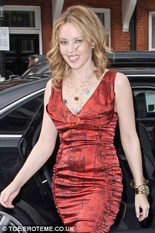 Celebrity backing: A-listers who have turned to Kabbalah include Kylie Minogue, pictured, and Harry Styles