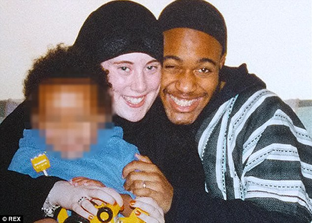 Extremist: Lewthwaite (left), the widow of London 7/7 bomber Jermaine Lindsay (right), is  working for the Intelligence Unit of Somali-based terrorist organisation Al-Shabaab