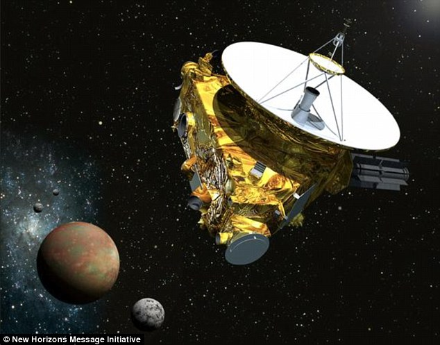 The New Horizons spacecraft could be the first to make contact with alien civilisations.Researchers are hoping to use the probe to send a message to deep space telling extra-terrestrials about humanity and Earth