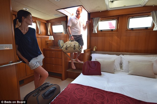 Beds On Board Lets You Stay Overnight On A Luxury Yacht