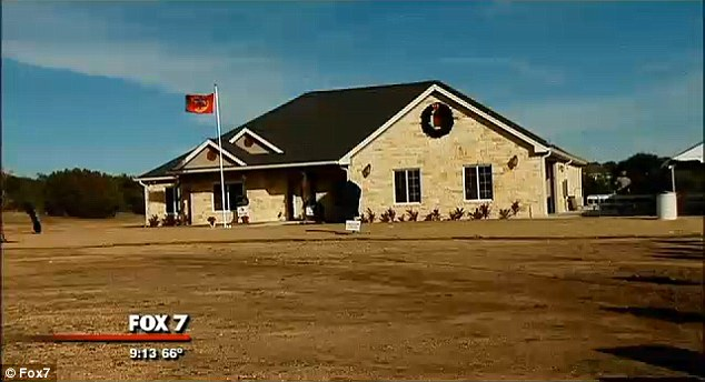 Home: In December 2013, the organization, which builds specially adapted, mortgage-free homes for severely injured war veterans, presented the family with a customized home in Dripping Springs, Texas