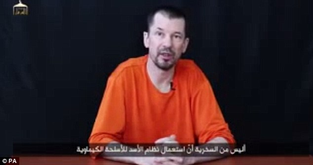 Cantlie, a photojournalist who has been held captive for more than two years, has appeared in multiple propaganda videos and articles for the extremist group