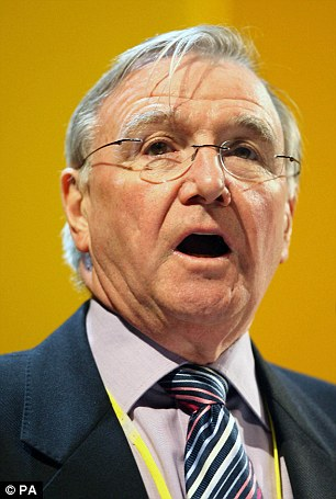 Lib Dem grandee Sir Malcolm Bruce (pictured) defended Alistair Carmichael