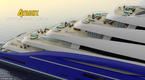 The designer of Double Century believes that his boat will herald a new era in 'gigayachts'