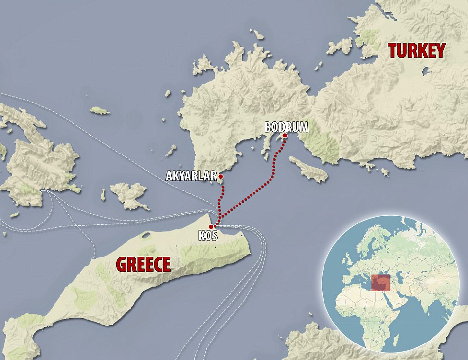 Migrant Route Channel Islands