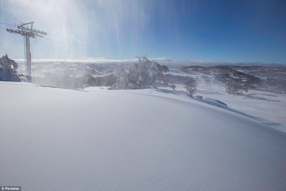 Freezing temperatures on the first day of winter has ensured the Snowy Mountains will live up to its name ahead of the ski season opening this weekend with 30cm of snow falling at Perisher Valley