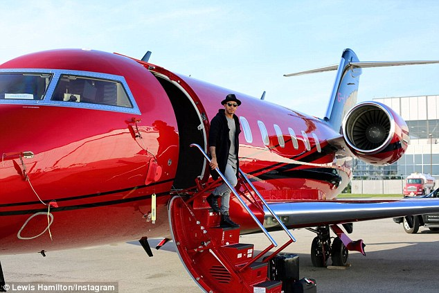 Lewis Hamilton Arrives For Canadian Grand Prix On Private