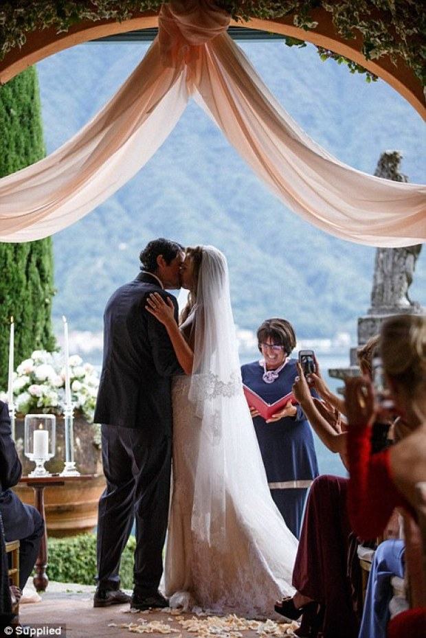 Brittany and Justin's three-day wedding celebration in Italy featured everything from pasta tasting sessions to fireworks