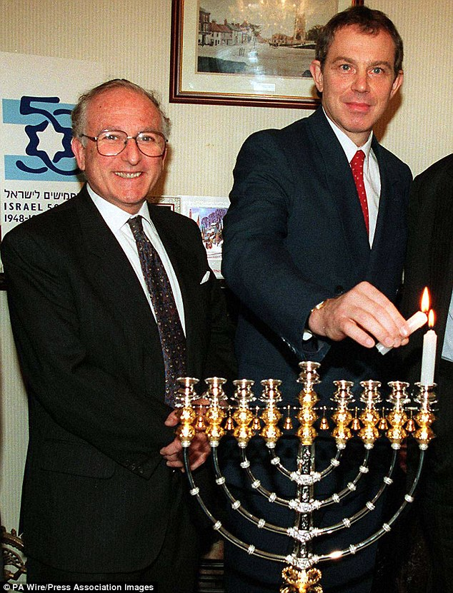 The surprise development will pile more pressure on the CPS in England over its controversial decision not to bring charges against the former Labour MP (pictured with Tony Blair in 1997) because he has dementia