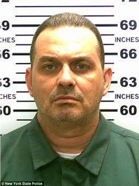 Richard Matt, 48, escaped the Clinton Correctional Facility in Dannemora, New York sometime between 10.30pm on Friday and 5.30am on Saturday