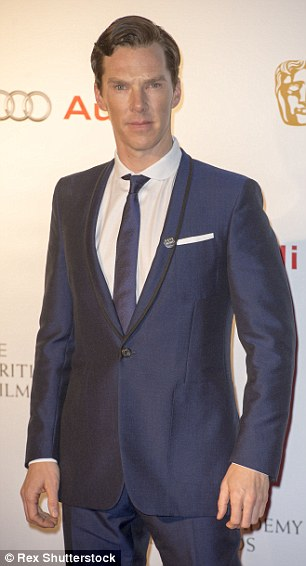 Controversy: Benedict Cumberbatch is to be given a CBE