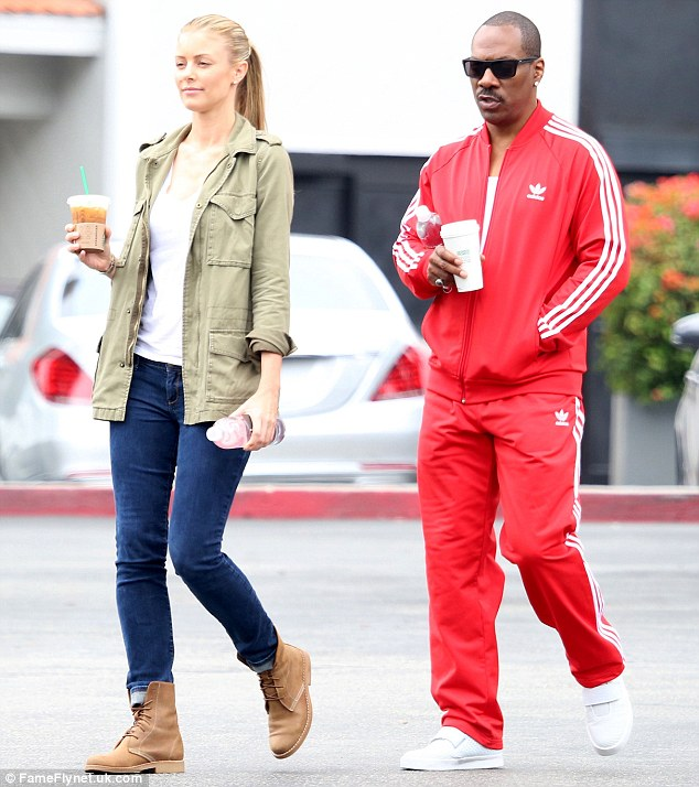 Regulars: The couple are often seen at the Bel Air Starbucks branch for a caffeine hit