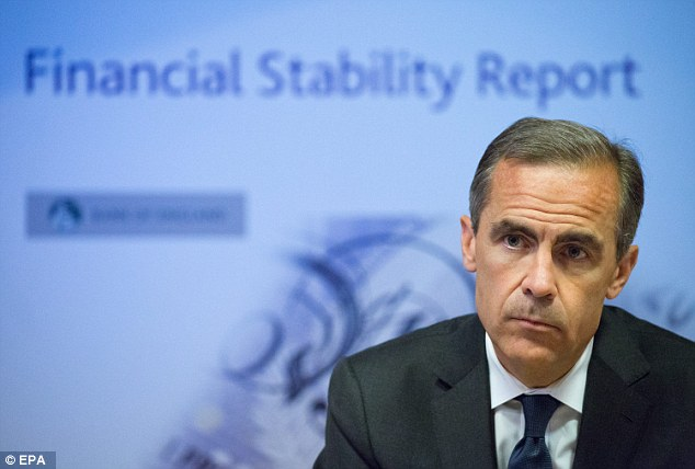 Admissions: Mark Carney at the Bank of England has, in effect, recognised the Old Lady's mistakes in the post-crisis period