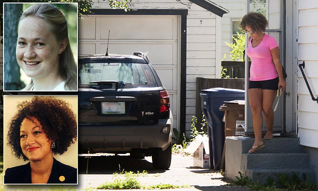 Rachel Dolezal pictured after white parents said she is pretending to be black