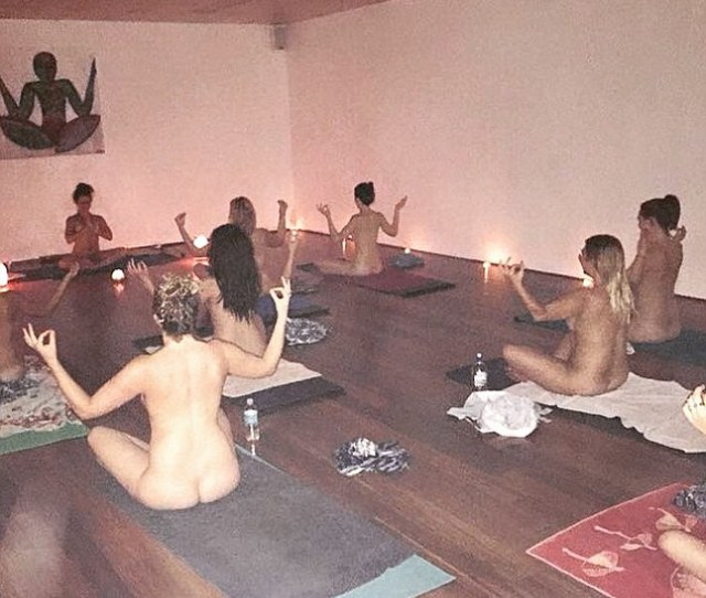 Breathe It Out Twisting Peacock Yoga Studio Was Enhanced With Candles And Incense To Assist