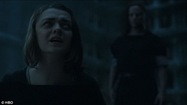 Irony: When she turns to Jaqen for answers, she finds she is completely blind