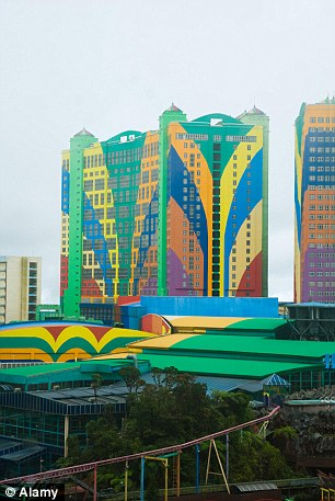Genting first world hotel at genting highlands,  Pahang, Malaysia