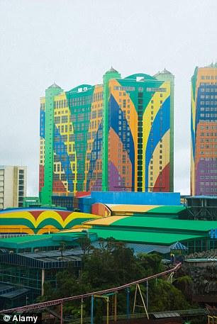 Genting first world hotel at genting highlands,  Pahang, Malaysia
