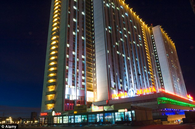Russia's sole entry in the top 20 is Moscow's Izmailovo Hotel, fourth in the rankings