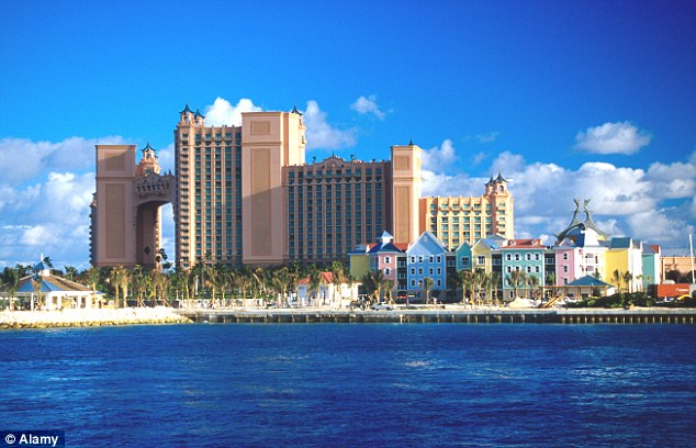 The Atlantis Resort on Paradise Island in the Bahamas has 3,414 rooms and takes 17th spot in the list