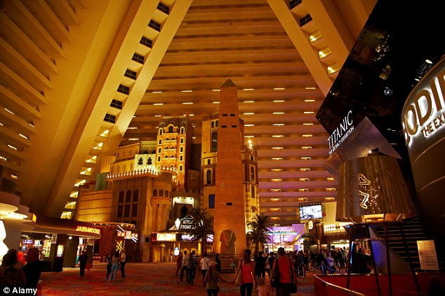 The Luxor sits in sixth spot in the rankings of the world's largest hotels