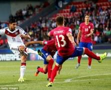 Video: U21 Đức vs U21 Serbia