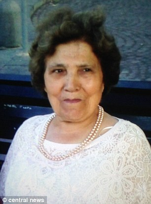 Italian cafe owner Palmira Silva was killed with a machete