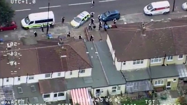 The rampage sparked a huge response from armed police who had to put their lives on the line to stop Salvador in his tracks