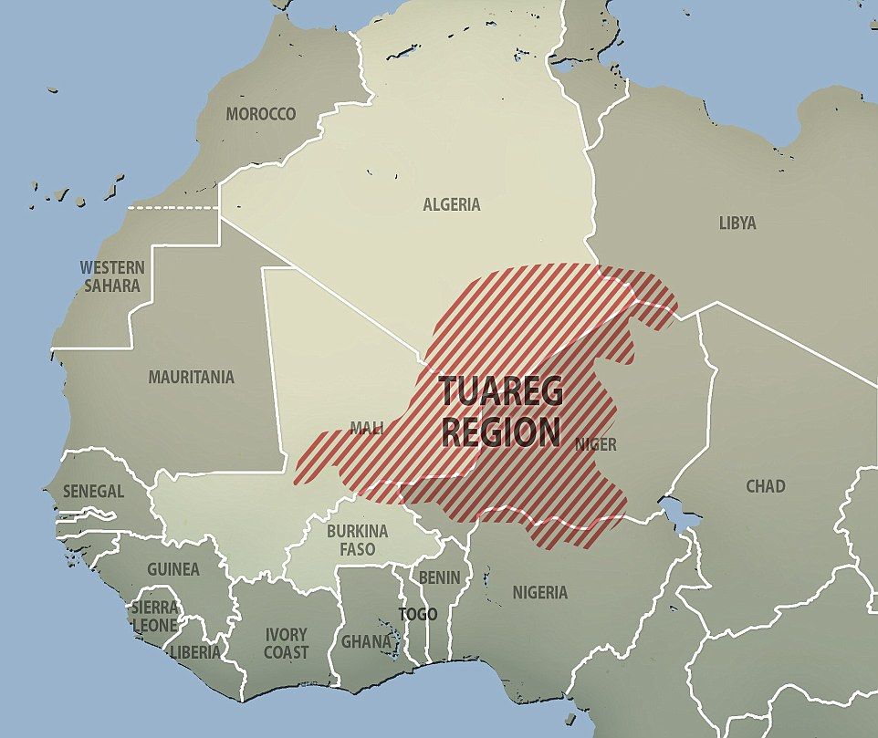 Boundaries: The Tuareg travel across countries, but it has become harder since the colonialists carved Africa up. As a result, the Tuareg have been arguing for secession in Niger and Mali, which has often descended into violent conflict