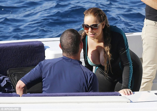 Image result for Mariah Carey and james packer  bikini