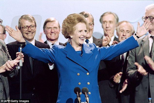 Bring in the Baroness: The Transport Secrerart said France needs a 'Mrs Thatcher' to take on the trade unions and address the chaos currently gripping Calais