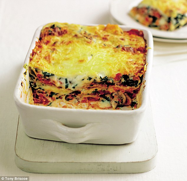 Mary Berry: Vegetarian lasagne | Daily Mail Online