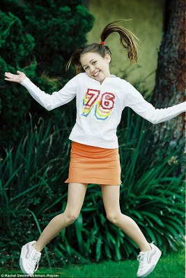 Ancient history: The photos date back to the same time she landed her breakthrough performance in the hit Disney channel series, Hannah Montana, as the lead role of Miley Stewart, which aired from 2006-2011