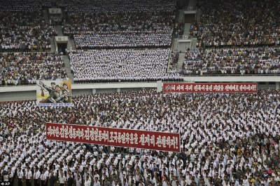 Bildergebnis für Pyongyang Mass Rally Marks Day of Anti-U.S Struggle