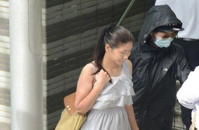 Change of heart: Originally Wu pleaded not guilty but changed her mind just two hours later