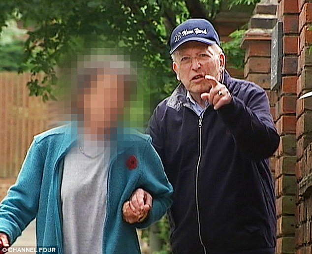 Spotted: Lord Janner, the 86-year-old, was last seen in public walking outside his house in London last July