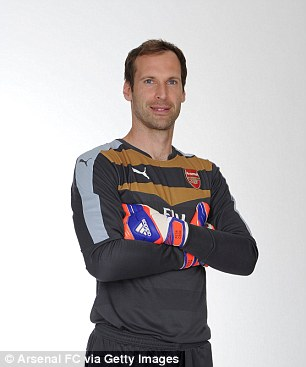 Cech has penned a four-year deal with Arsenal