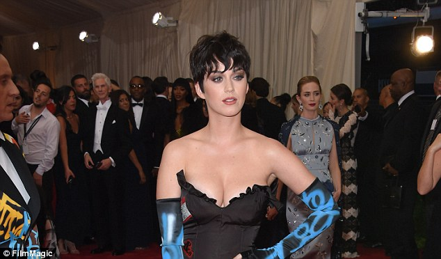 Feud: Katy Perry (above in May at the Met Gala) is about to head to court against the sisters at Immaculate Heart of Mary