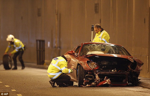 In 2009, footballer Cristiano Ronaldo made headlines when he crashed his Ferrari on the A538 Wilmslow Road