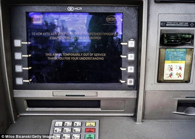 Αποτέλεσμα εικόνας για atm greek no money