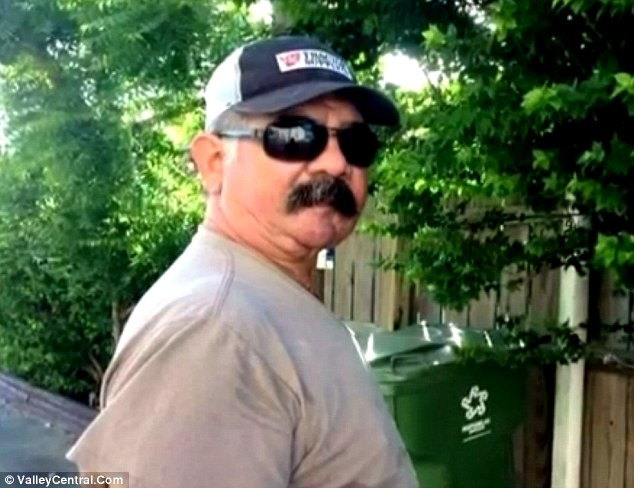 Stung to death: South Texas farmer Rogerio Zuniga died Sunday after being overwhelmed by hundreds of bees while using a tractor on his field near Rio Hondo