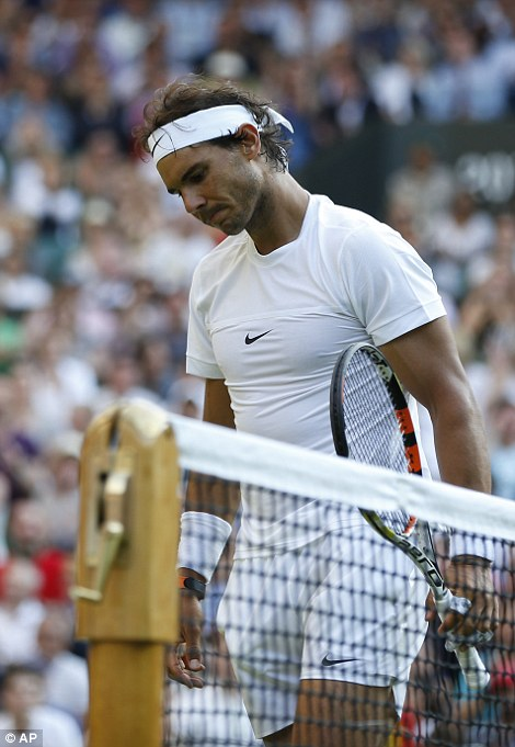 Nadal reflects on his shock defeat