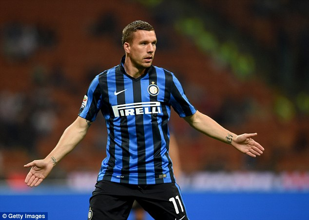 The 30-year-old German was on loan at Serie A side Inter Milan for the second half of last season