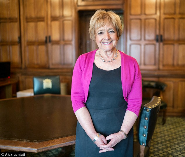 Blistering attack: MP Margaret Hodge accused the department of a 'terrible waste of money' after paying billions to 'expensive consultants with massive mark ups' rather than have their own in-house workers