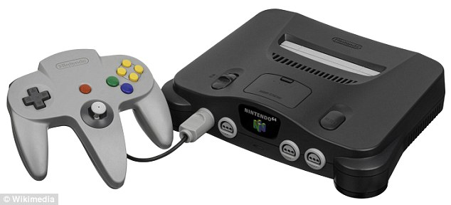 Back to cartridges: Nintendo's next entry, the N-64, kept using cartridges. The company would not release a disc-based console until 2001