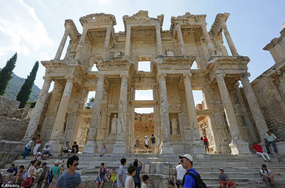 Ephesus was one of two attractions in Turkey to be added; the other was Diyarbakır Fortress and Hevsel Gardens Cultural Landscape