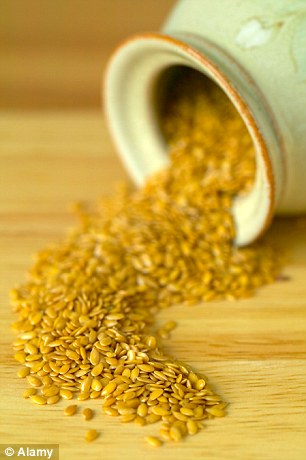 Flaxseeds are a fabulous source of metabolism boosting high quality protein and fibre