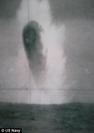 Alex Mistretta claims sources told him the pictures were taken from the US submarine in 1971