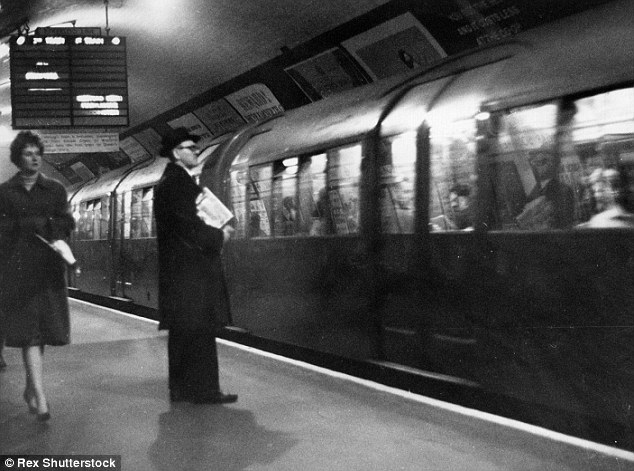 Hundreds of thousands of Britons were subjected to 'mock' biological and chemical warfare tests in 750 secret operations, including a secret operation on the London Underground network during May 1964 (above)