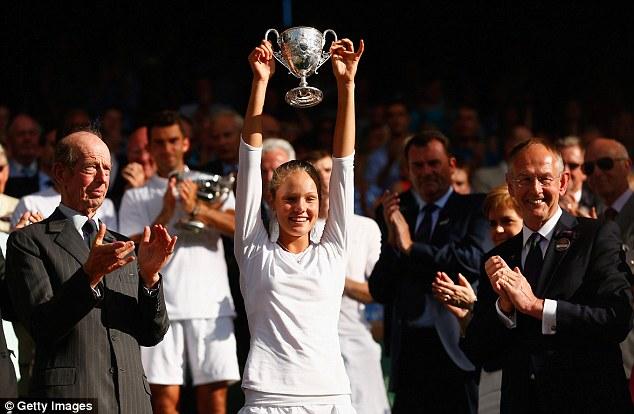 Sofya Zhuk outclassed fellow Russian and No.12 seed Anna Blinkova to win the Wimbledon girls' singles